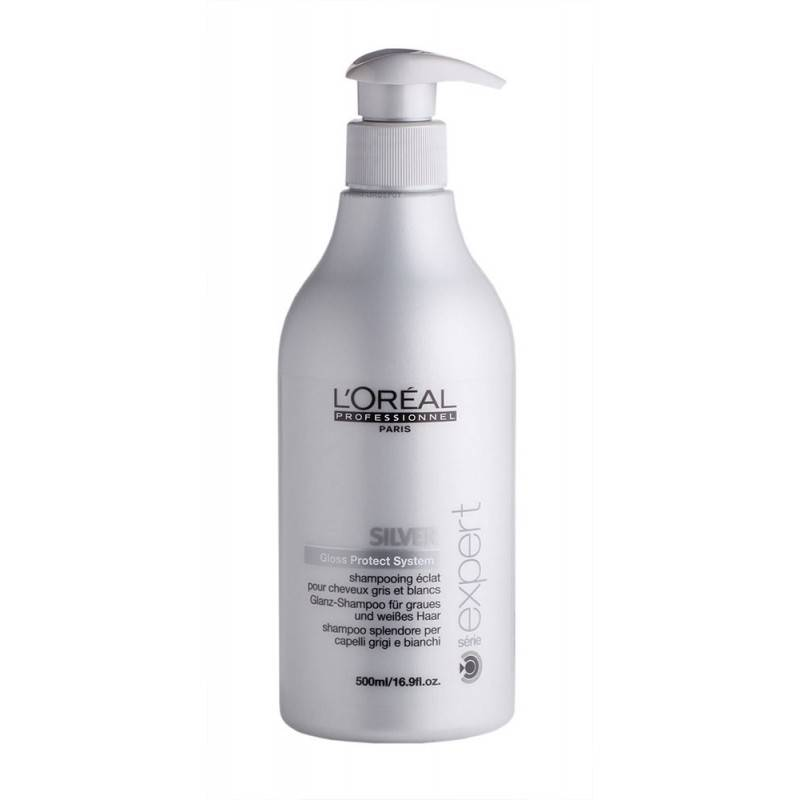 ... Expert Silver Shampoo 500 ml. Shampoo enriched with amino acids and  anti-yellowing agents. The gray and white hair never seemed better. c0076d7c8a66