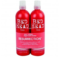 TIGI Resurrection Shampoo 750ml + Balsamo 750 ml