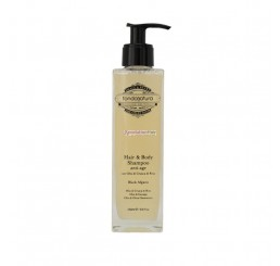 Fondonatura Hair & Body Shampoo Anti-Age Black Afgano 250ml