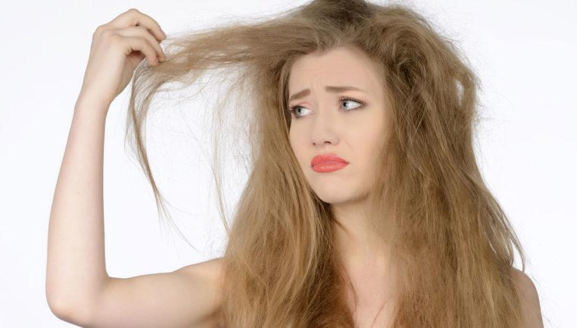 secchezza dei capelli