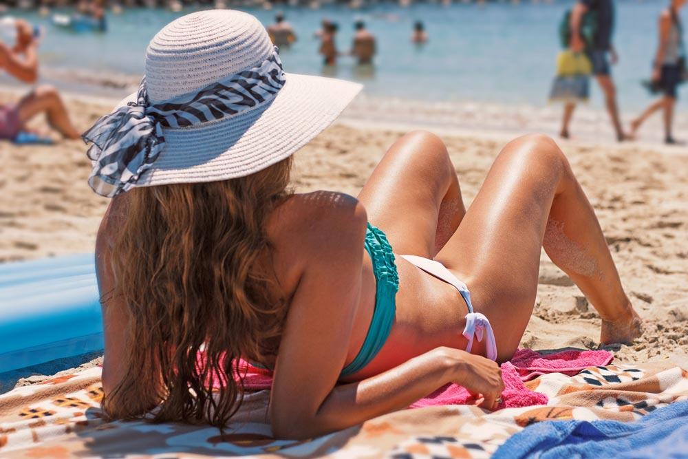 protezione solare per capelli
