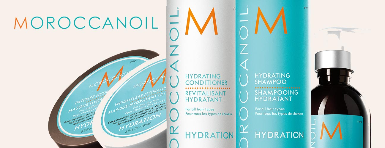 MOROCCANOIL HYDRATION banner