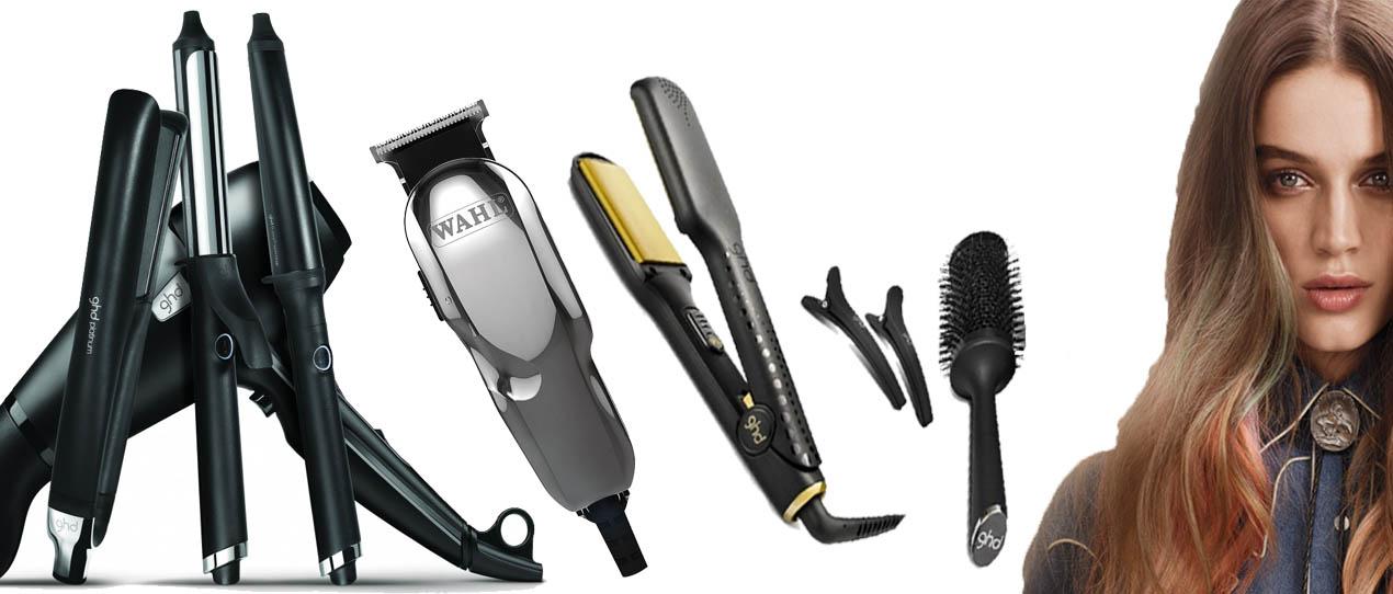 attrezzatura per capelli