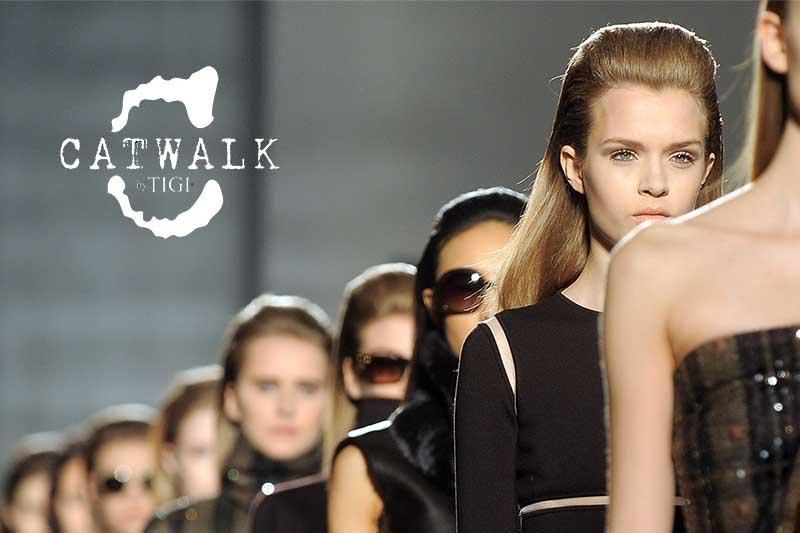 catwalk tigi sfilate moda capelli