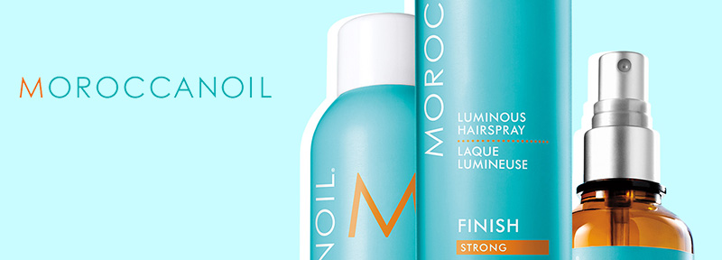 MOROCCANOIL STYLE & FINISH banner