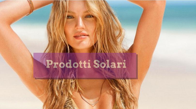 prodotti solari