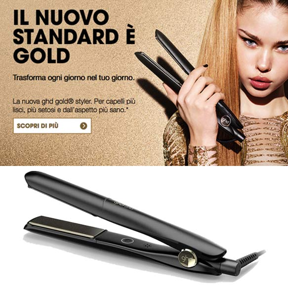 piastra ghd gold