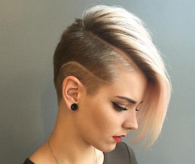 Taglio capelli rasati sfumati