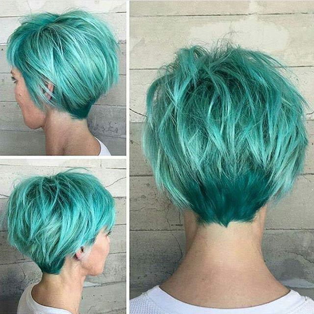 taglio-corto-colore-verde